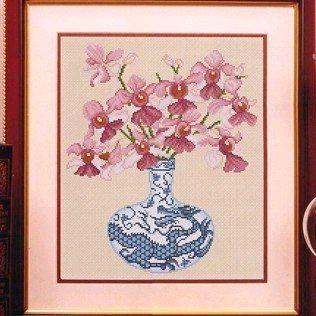 Gallery.ru / Фото #28 - Орхидеи)) - вышивка - tastr