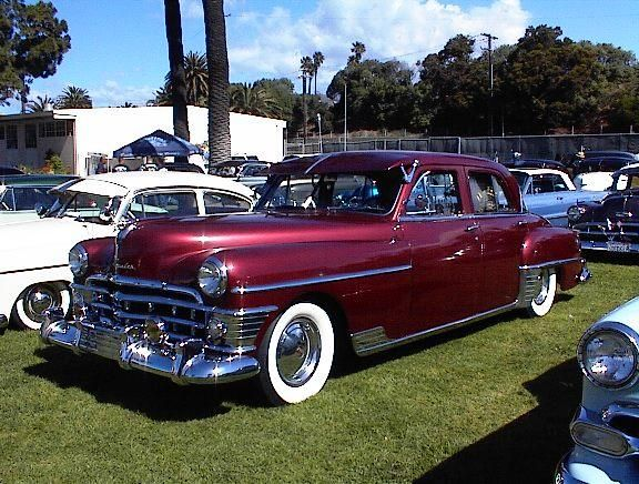 1950 chrysler 4 door cars from the 1950 39 s pinterest for 1950 plymouth 4 door sedan