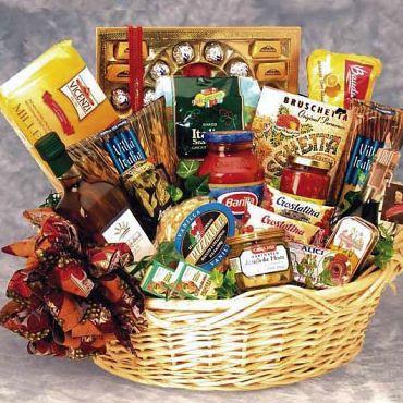 Gift Basket Ideas Gourmet meal gift basket
