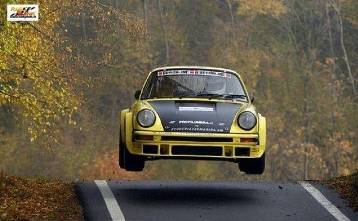 極速上斜後,連車身都飛起了!