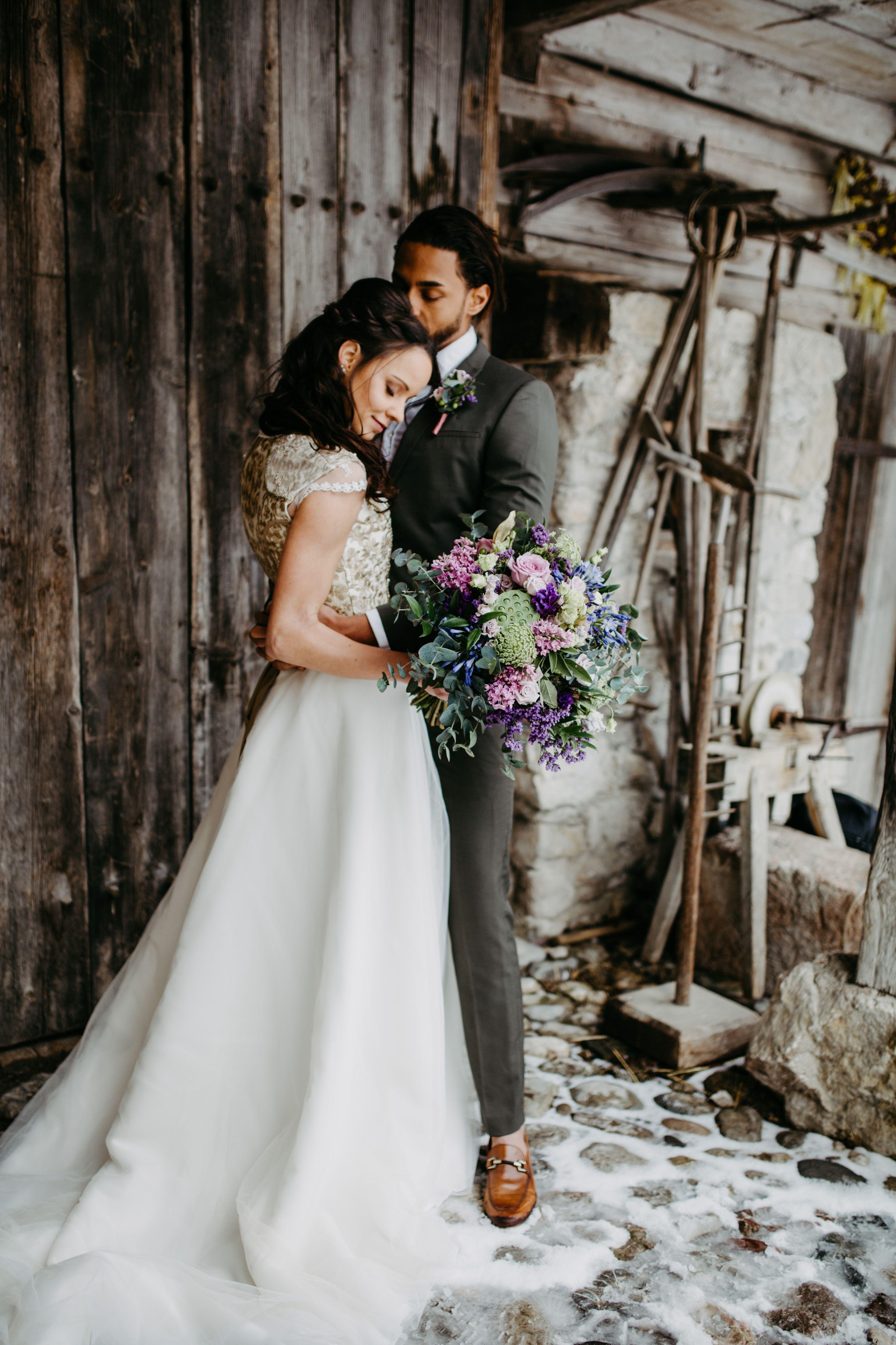 Romantische Hochzeit Im Winter Am Schliersee Braut Dirndl Romantische Hochzeit Hochzeit