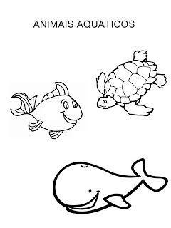 40 Atividades Sobre Animais Aquaticos E Terrestres Com Imagens