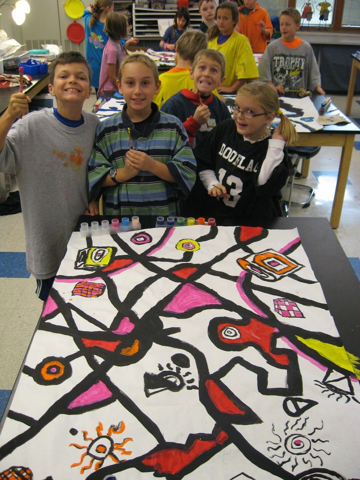 4th Grade Artists Stu D The Abstract Art Of Wassily