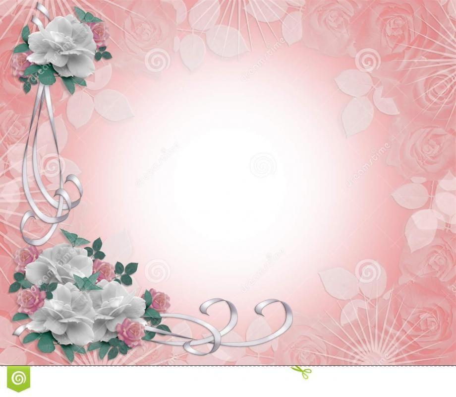Wedding Invitation Background Template Wedding