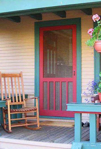 Garden Woodworks Custom Screen Doors Porch Custom