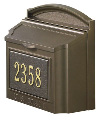 Residential Mailboxes Wall Mount Whitehall Wall Mount Mailbox Wall Mailbox Mailboxes Wall Mounted Residential wall mount mailbox