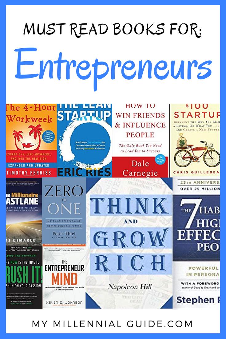 The Best Entrepreneur Books For 2019 Blogging Pros Group Board