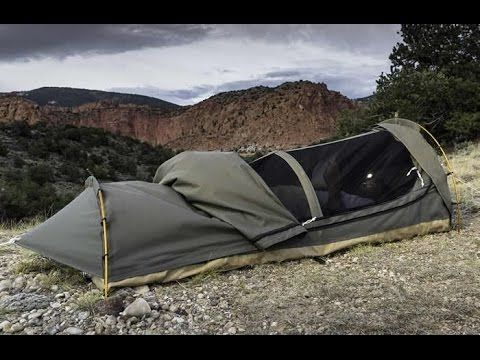 The Kodiak Canvas Swag Tent is a small yet comfortable one person shelter. As all gear made by this American company that got its name from the rough ... & 5 Camping Gear Inventions You MUST HAVE ? 3 - Get it on Amazon ...
