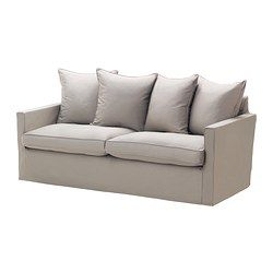 HÄRNÖSAND Sofa   Olstorp Sand   IKEA   $349   Wonder If I Could Cover The  Cushions With Yellow Fabric?