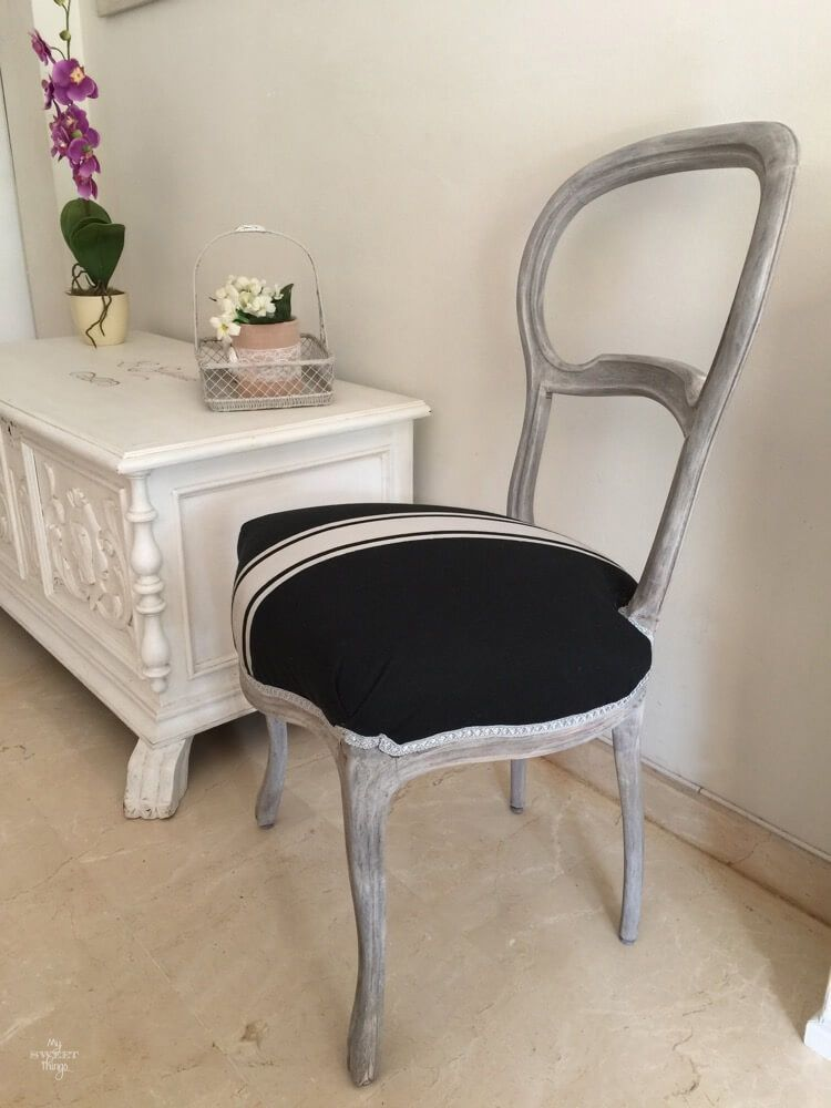 """Make A Statement"" The Elizabethan Chair Makeover"