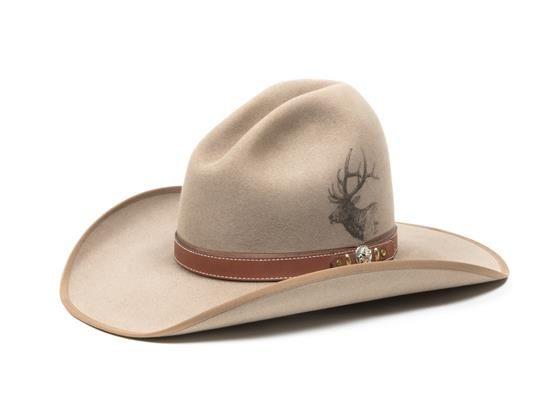 cae28e70 A Custom Made Cowboy Hat by Rands, Billings Montana Size 7 1/4 ...