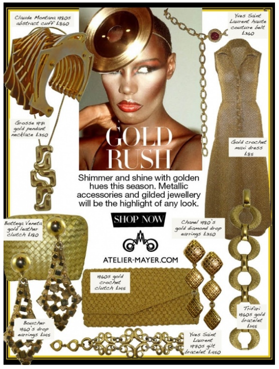 Collage email design example from Atelier Mayer #emailmarketing #design #emailnewsletter