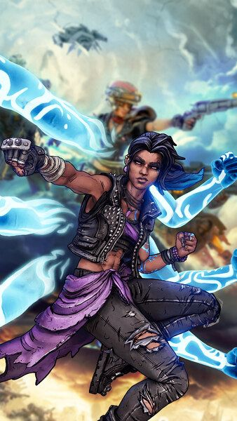 Amara Borderlands 3 4k Hd Mobile Smartphone And Pc Desktop Laptop Wallpaper 3840x2160 1920x1080 2160x3840 1 Borderlands Art Borderlands Laptop Wallpaper