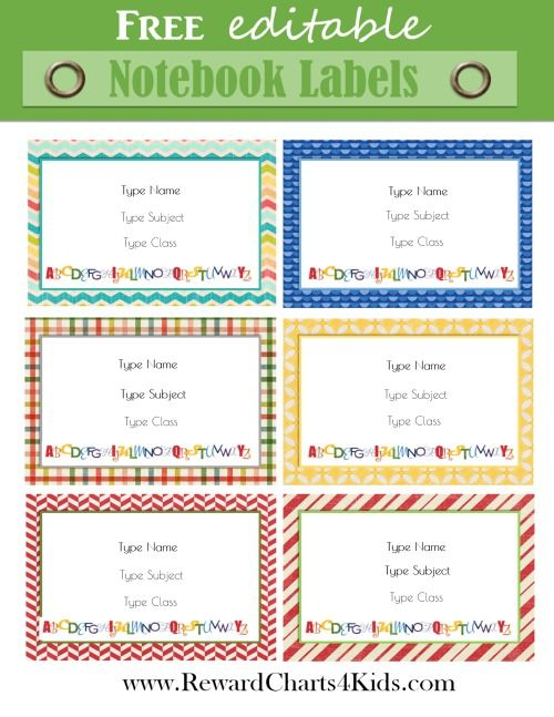 free book labels that can be edited online instant download back to school pinterest. Black Bedroom Furniture Sets. Home Design Ideas