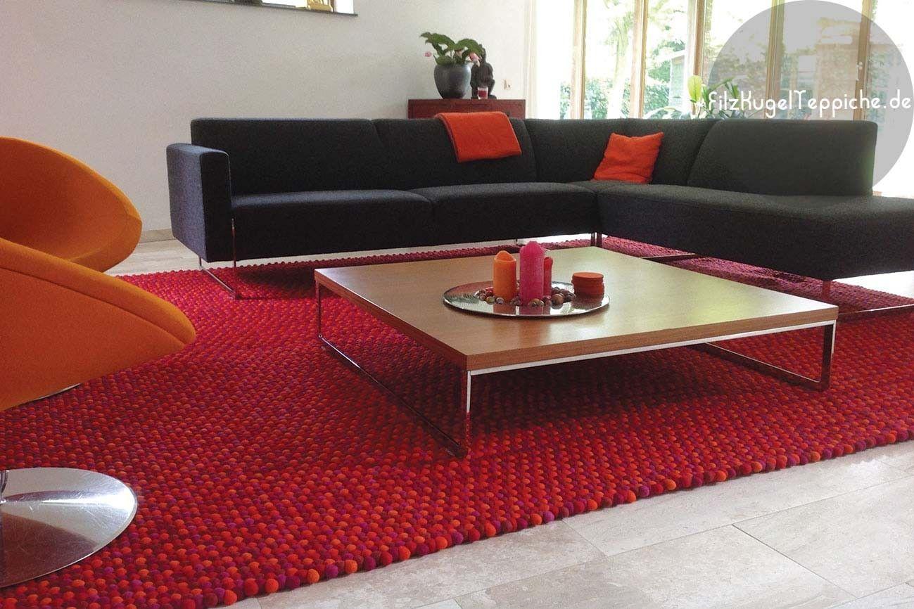 Spezialangefertigter Rechteckigen Teppich Für Das Wohnzimmer   Rote  Variation