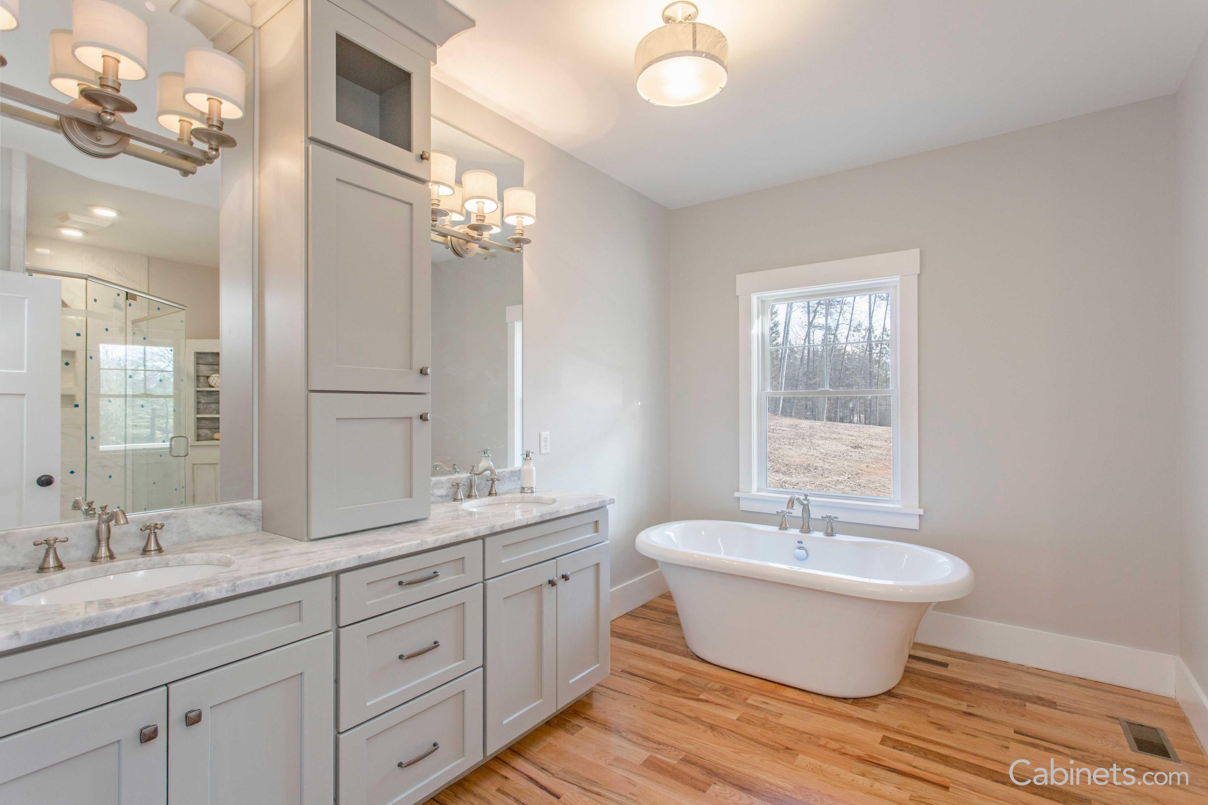Beautiful Bathroom Vanity Ideas Cabinets Com Beautiful Bathroom Vanity Wood Floor Bathroom Master Bathroom Vanity [ 2667 x 4000 Pixel ]