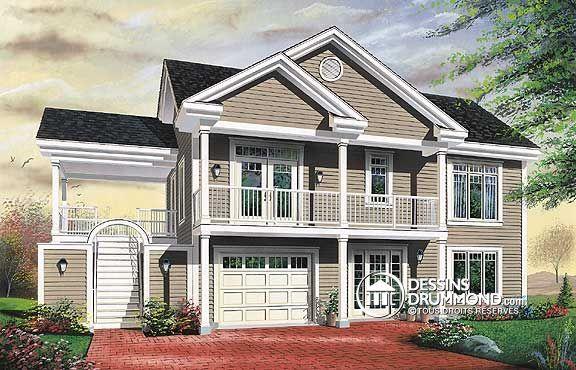 Plan de maison unifamiliale w3905 mes mod les de plans for Mes plans de maison