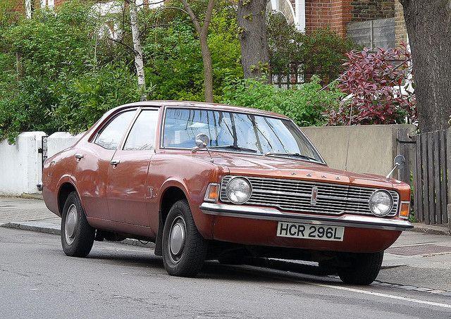 Ford Cortina Mk3 1300 L 1973 Ford Classic Cars Old School Cars