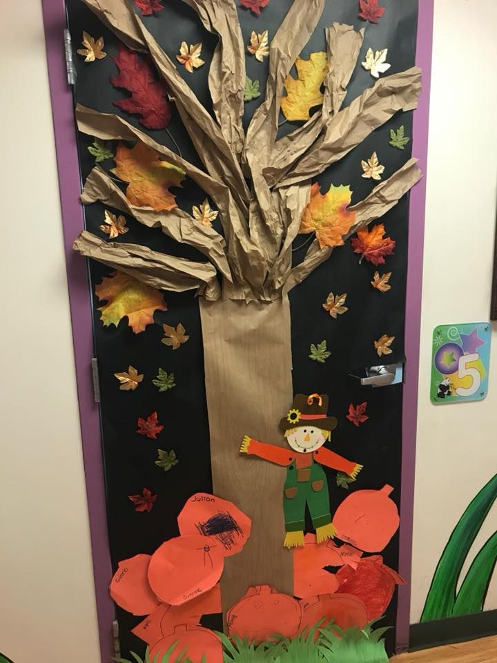 Fall Door Decoration Ideas #falldoordecorationsclassroom