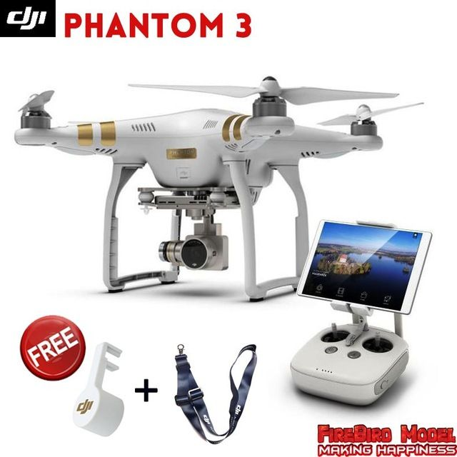 DJI Phantom 3 Advanced Professional Drone With 27K 4K Full HD Camera Build In GPS System FPV Live Video View