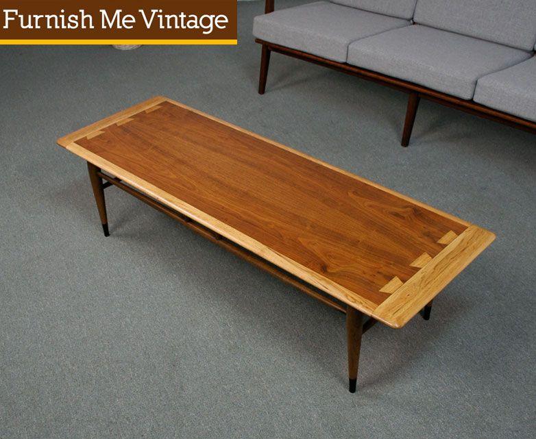 Refinished Vintage Lane Acclaim Coffee Table Coffee Table Lane
