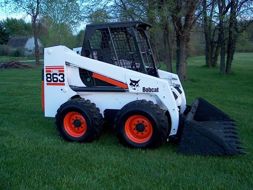 Bobcat 863 Skidsteer Loader