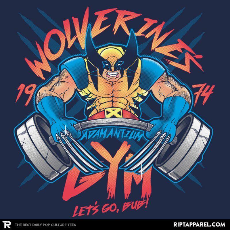 New post on tshirtroundup Gym art, Wolverine, Gym tshirts