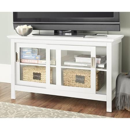 10 Spring Street Burlington Media Stand Multiple Colors Walmart Com Home Entertainment Furniture Convenience Concepts Media Stand