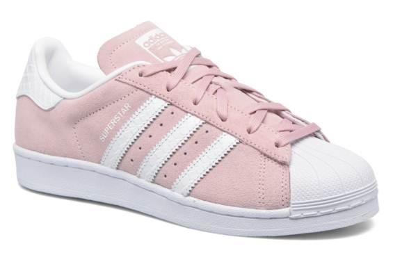 outlet store dce84 4e78f Baskets Superstar W Adidas Originals vue 3 4