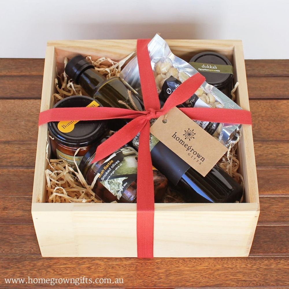 Gourmet Food Box Homegrown Gifts Ecofriendly Christmas