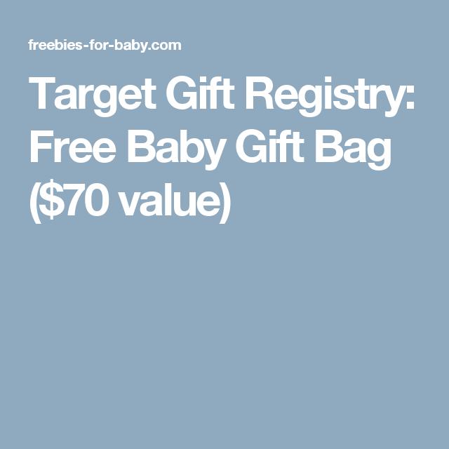 Target Gift Registry: Free Baby Gift Bag ($70 Value)