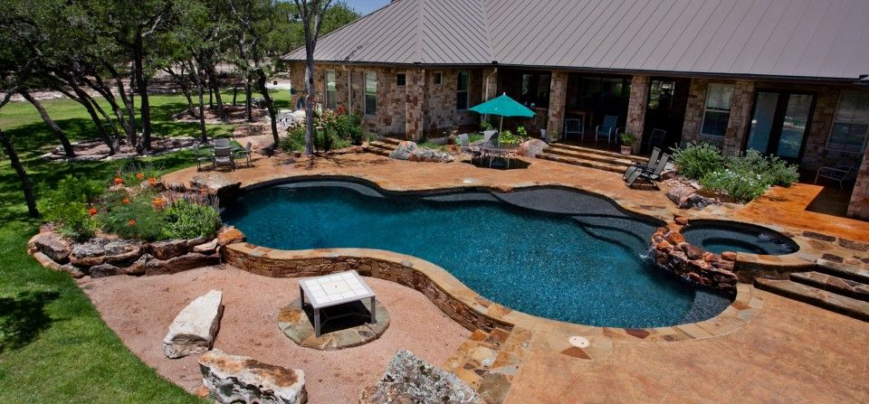 freeform pools phoenixphoenix landscaping designpool relaxing getaway by landdesignfor the homepinterestshape - Free Form Swimming Pool Designs