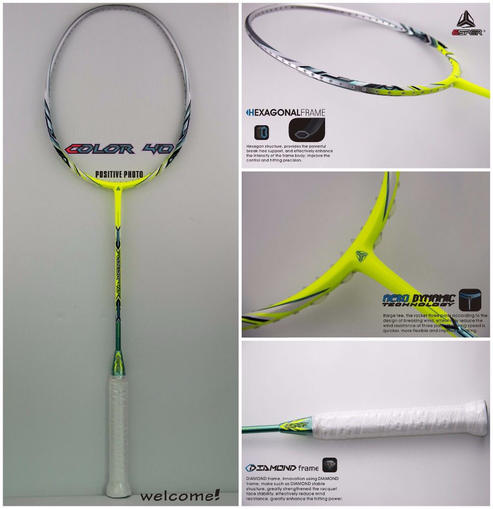 Good Color 40g High Modulus Graphite Carbon Fiber Badminton Racket Manufacturer Of Badminton Carbon Fiber Racket Badminton Racket Rackets Badminton