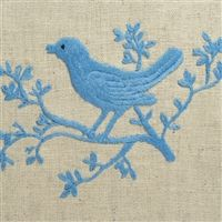 Bird embroidered linens from Vietnam.