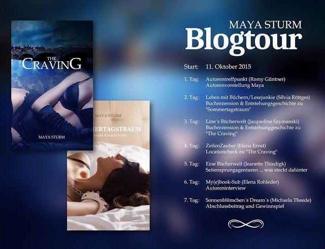 """Eine Bücherwelt: Blogtour """"Maya Sturm"""""""