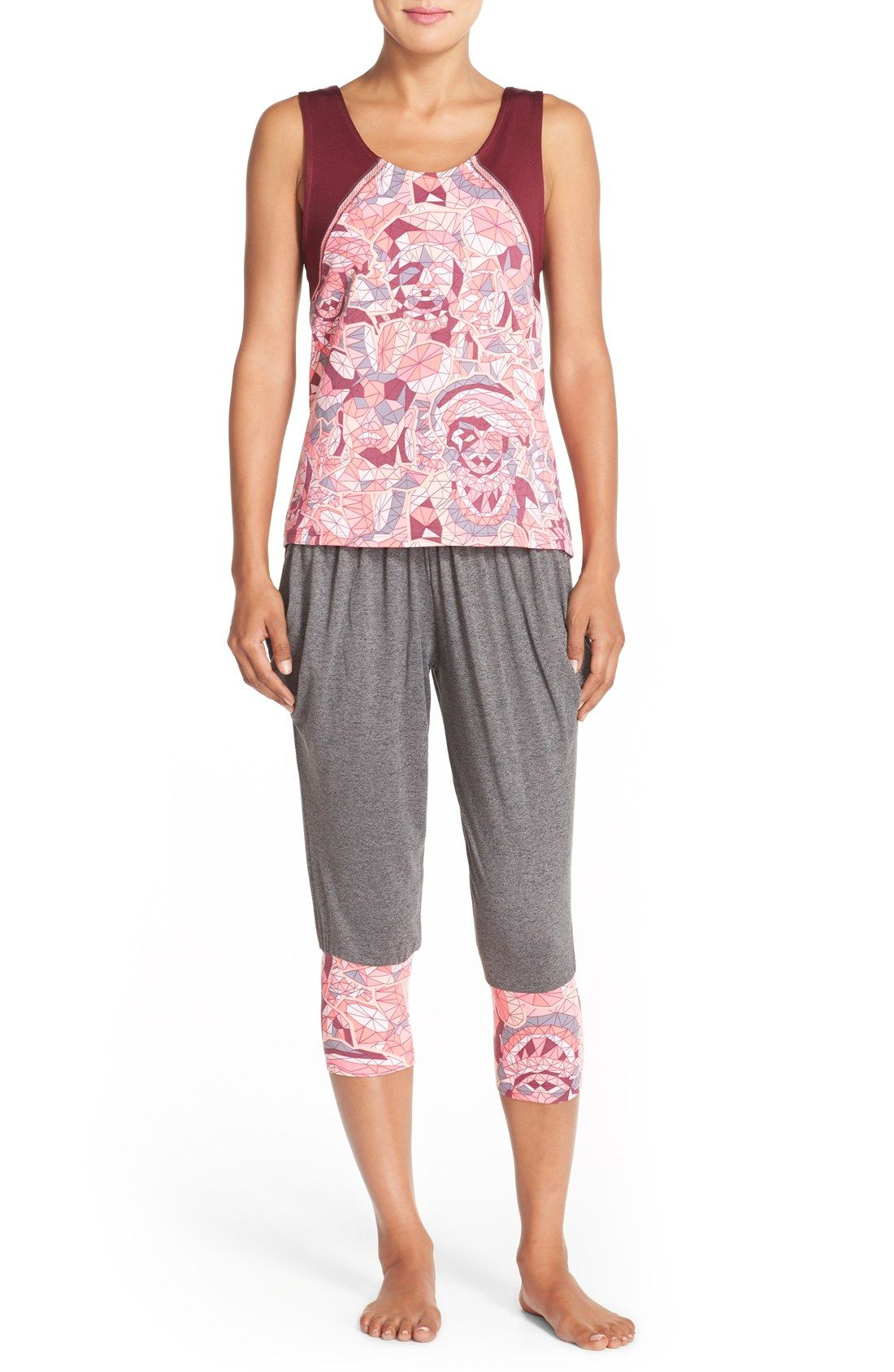 54f84adbc766e Maaji 'Breezy Om' Crop Yoga Pants | Lisa's faverites | Yoga Pants ...