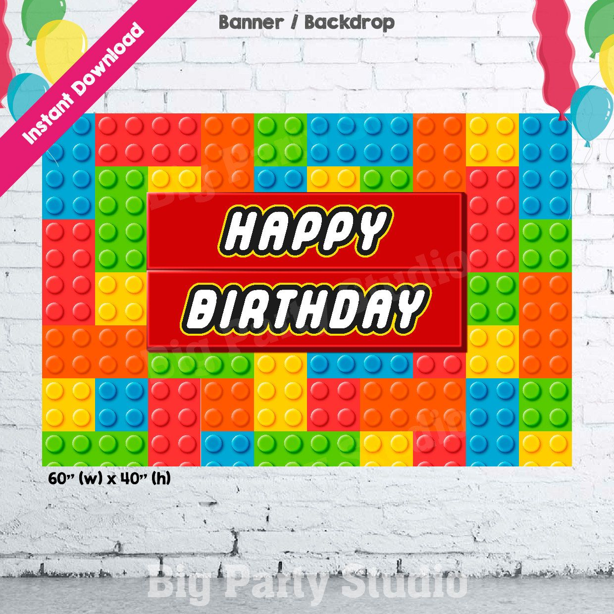 Diy Happy Birthday Cake Banner