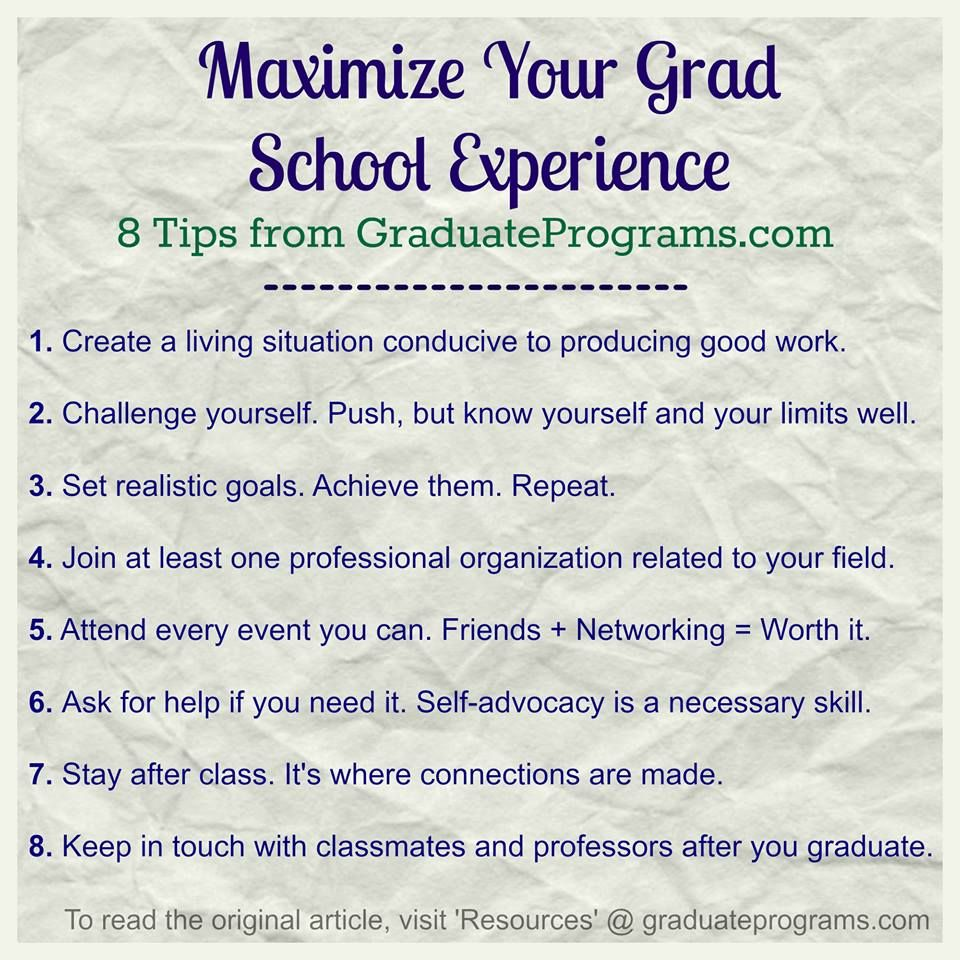 going to grad school yea or nay graduate and professional amp up your grad school experience these 8 tips have any other tips for