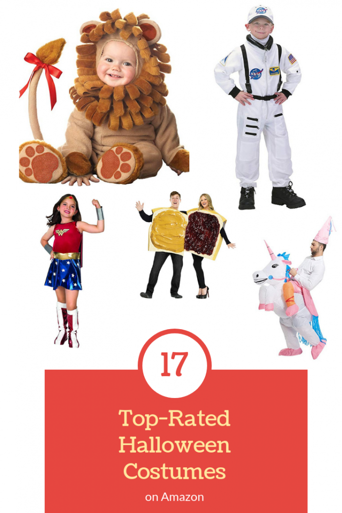 17 of the TopRated Halloween Costumes on Amazon
