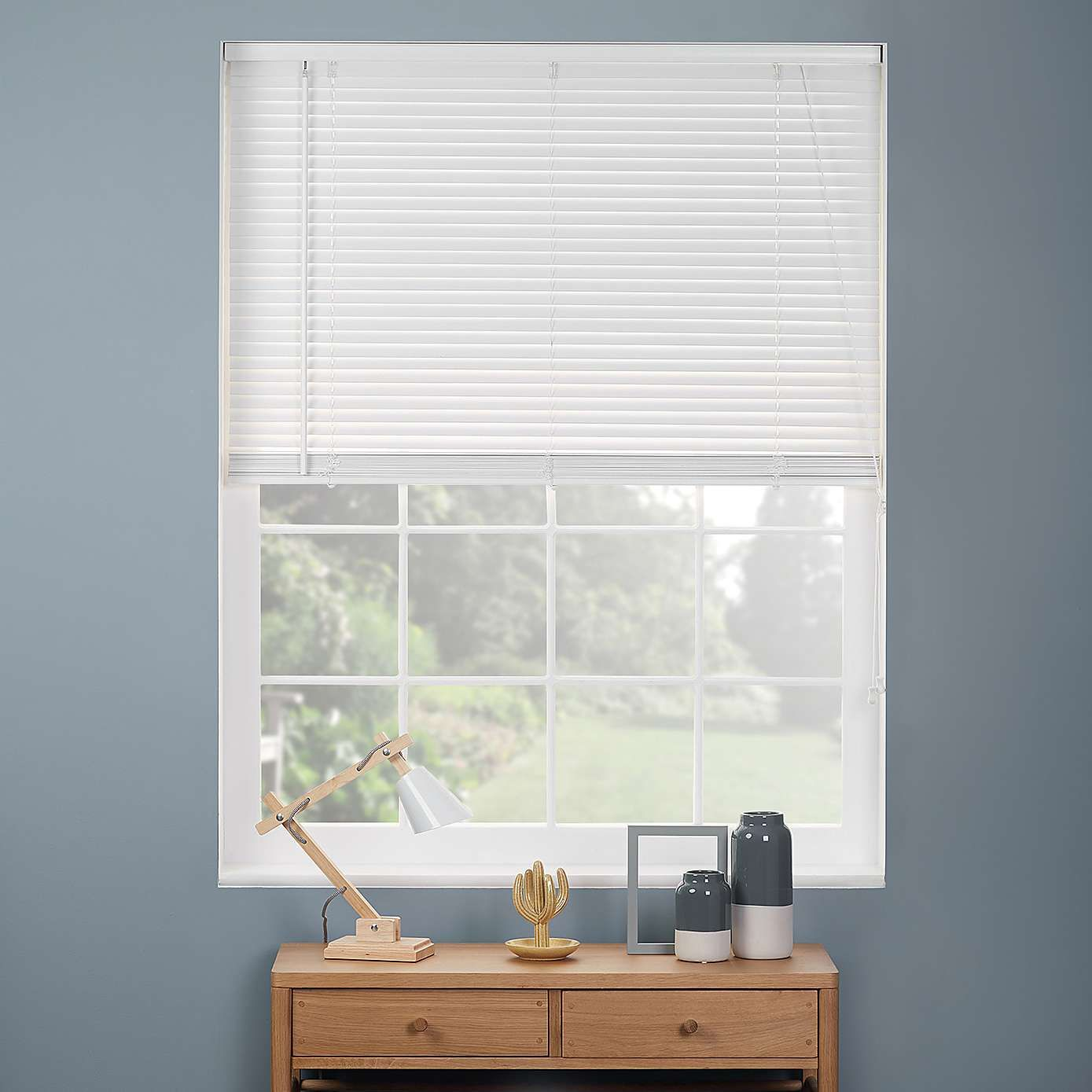 White Wooden Blind 27mm Slats Blinds, Home