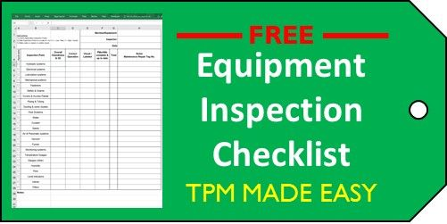 How To Use The Equipment Inspection Checklist  Featured Items