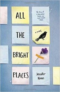 Jennifer niven all the bright places book
