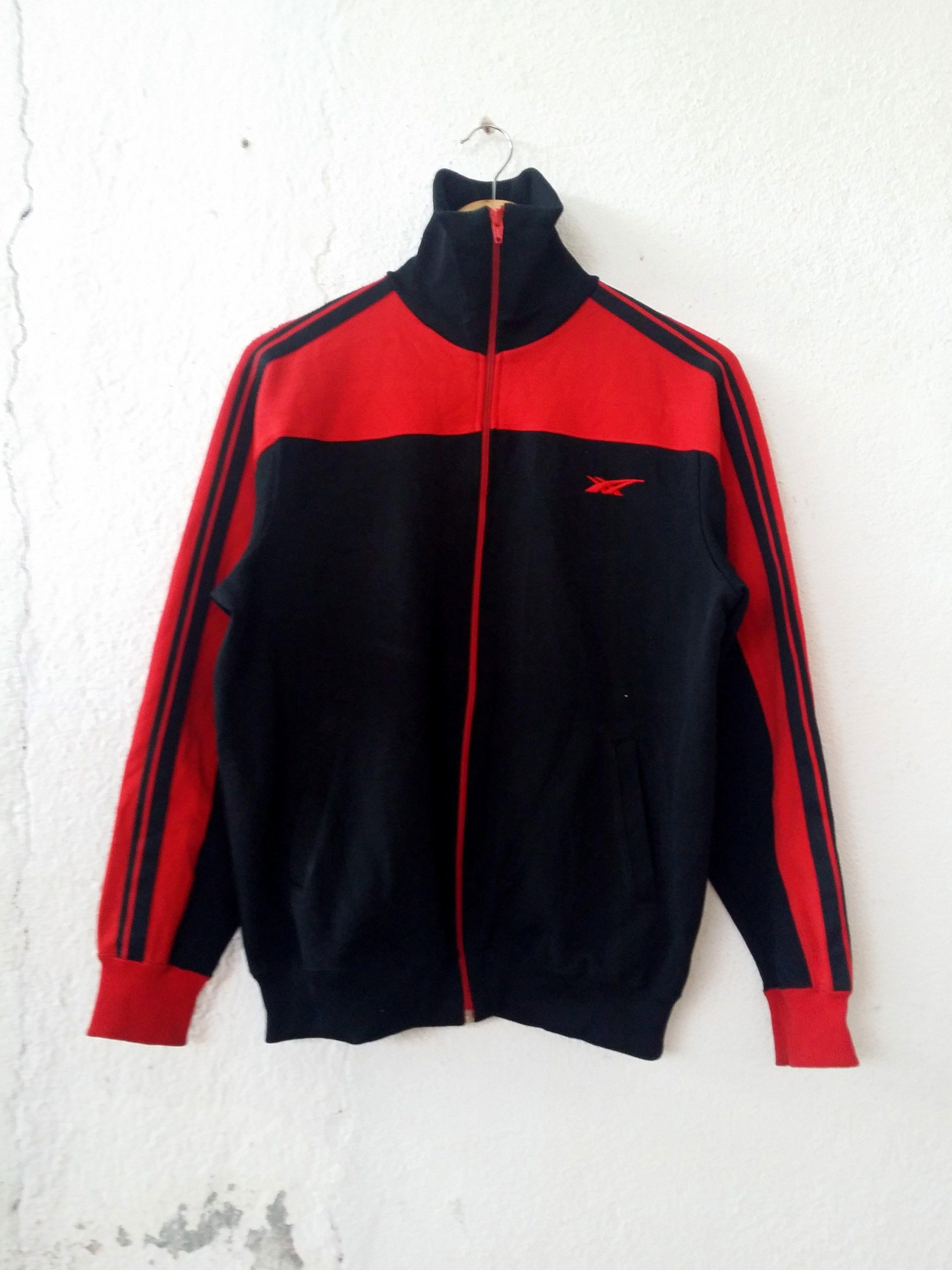 c782e0f3e0 Asics Sweater Sport Brand Trainer Track Top Zipper Small Logo Size M ...