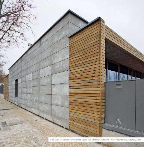 Utilisation du viroc pour les fa ades projets for Utilisation du beton cellulaire en exterieur