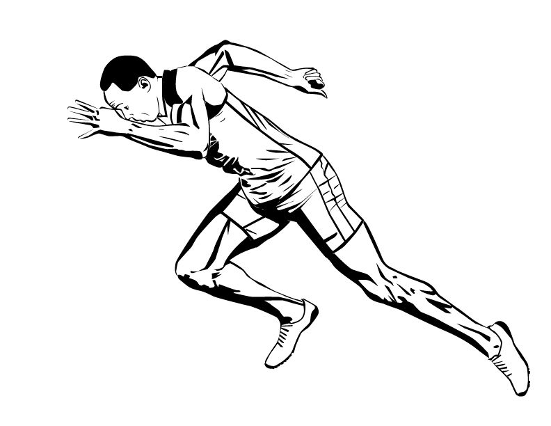 Usain Bolt Start