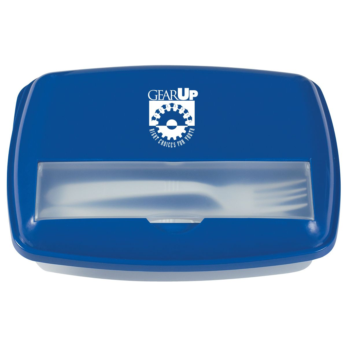 GEARUP 3-Section Lunch Container. Includes Plastic Knife And Fork In Secure. Lid Compartment. Microwave And Dishwasher Safe. Meets FDA Requirements.   More ideas at http://proformagearupideas.com/