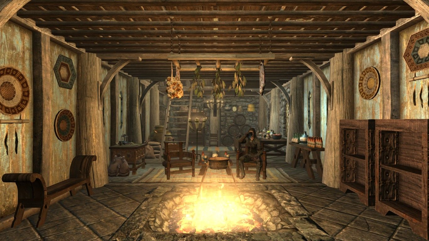 Breezehome Skyrim Google Search Skyrim Village Video Games
