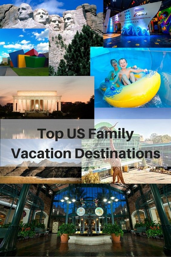 Top USA Family Vacation Destinations + Trip Planning Tips