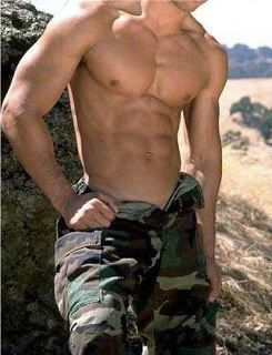 Unmph. I DO love a man in uniform. I love them even more out of uniform. ;P