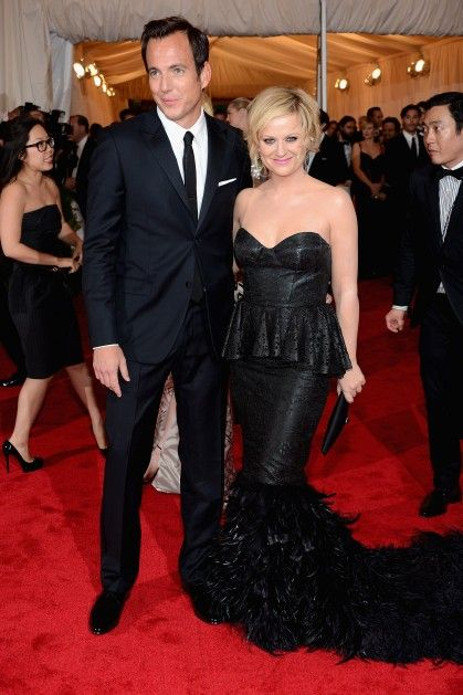 Will Arnett and Amy Poehler at the 2012 Met Costume Gala